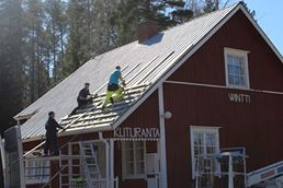tuvan katto uusittiin